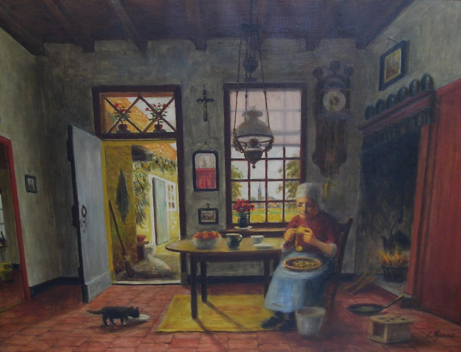 prijsklasse 500 tot 1.000: bij Kunsthandel Groenland Zevenbergschen Hoek